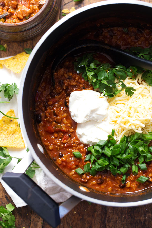 5 alarm turkey chili