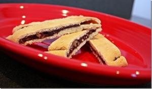 Chocolate Filled Biscotti